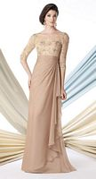 Montage 213969 Lace and Chiffon Mother of the Bride Dress image