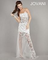 Jovani 2204 Sheer Illusion Formal Dress image