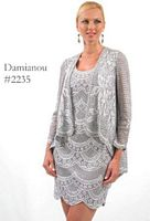 Damianou Short Mother of the Bride Jacket Dress 2235 image