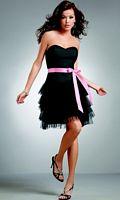 Jordan Short Flirty Swiss Tulle Ruffle Bridesmaid Dress 224 image