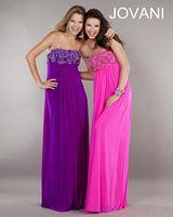 Jovani Strapless Jersey Party Dress 25326 image