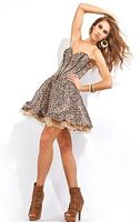 Leopard Print Prom Dresses 2012 Princess by Party Time 2578 image