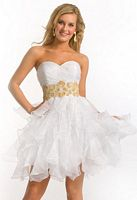 Short Prom Dresses 2012 Princess by Party Time 2581 image