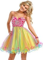 Short Prom Dresses Princess by Party Time 2583 image