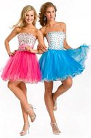 Princess by Party Time Short Prom Dress 2586 image
