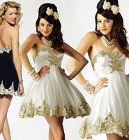 Mac Duggal Homecoming Short Lace Applique Dress 2590BN image