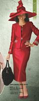 Lily and Taylor Womens Church Suit 2618 image