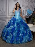 Quinceanera Collection Ruffle Organza Ball Gown by House of Wu 26685 image