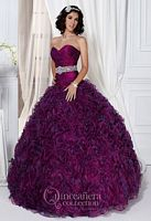 Size 4 Magenta Quinceanera 26708 by House of Wu image