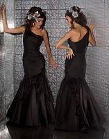 MacDuggal Prom One Shoulder Mermaid Prom Dress 2675MD image