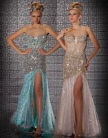 MacDuggal Prom Lace-Up Front Prom Dress 2682M image