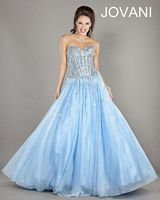 Jovani 2739 Lace-Up Back Ball Gown image