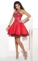 Hannah S Short Beaded Corset Prom Party Dress 27603 image