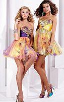 Prom Dresses 2012 Hannah S Sequin Tulle Print Short Dress 27718 image