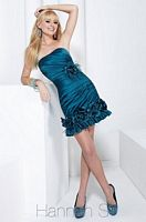 Hannah S Cocktail Dress 27724 with Feathers image