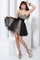 Hannah S Short Dress 27732 with Removable Skirt image