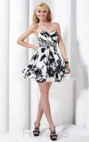 Hannah S Hanky Hem Short Party Dress 27737 image