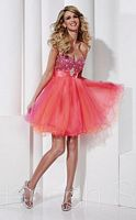 Hannah S Short Tulle Party Dress 27818 image