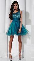 Hannah S Short One Shoulder Party Dress 27824 image