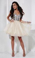 Hannah S 27835 Mirror Sequin Short Party Dress image
