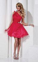 Hannah S Short Chiffon Homecoming Dress 27838 image