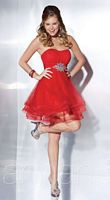 Hannah S 27846 Tulle Short Party Dress image