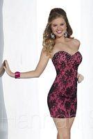 Hannah S 27849 Lace Cocktail Dress image