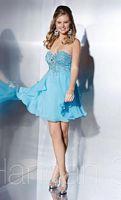 Hannah S 27855 Silky Chiffon Short Dress image
