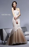 Sherri Hill 2789 Mermaid Prom Dress with Beading image
