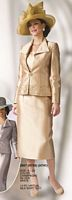 Lily and Taylor 2807 Womens Silky Twill Suit image