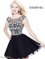 Prom Dresses 2012 Sherri Hill Short Party Prom Dress 2814 image