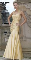 Alexia Designs Iridescent Taffeta Halter Bridesmaid Dress 2820 image