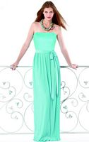 Fortuny Pleated Long Dessy Collection Bridesmaid Dress 2822 image