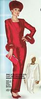 Lily and Taylor Womens 3pc Pant Suit 2846 image