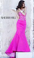 2012 Prom Dresses Sherri Hill Long Mermaid Prom Dress 2850 image