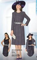 Lily and Taylor Jacket Dress for Church 2861 image