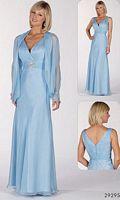Alyce Paris JDL Mothers Silky Chiffon Evening Dress 29295 image