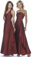 Alexia Designs Iridescent Taffeta Halter Bridesmaid Dress 2934 image