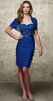 Jean De Lys Short MOB Dress 29405 by Alyce Designs image
