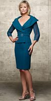 Jean De Lys Knee Length MOB Dress 29407 by Alyce Designs image