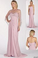 Alyce Paris Jean De Lys Evening Dress with Sheer Cover-up 29457 image