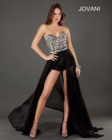 Jovani 3 High Low Romper Dress image