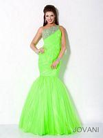 Jovani Neon Mermaid Dress 30002 image