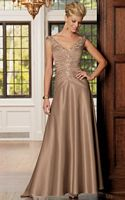 Caterina by Jordan Off the Shoulder Mother of the Bride Dress 3005 image