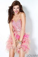 Jovani Short 2012 Prom Dress 30061 image