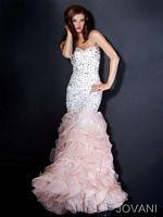 Jovani Ruffle Mermaid Party Dress 30076 image