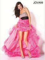 Jovani Ruffle Long Evening Gown 30079 image