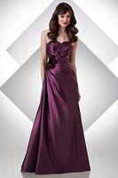 Bari Jay Starlet Taffeta Long Bridesmaid Dress 302 image
