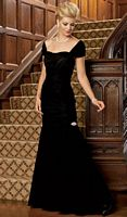 Caterina by Jordan Short Sleeve Mother of the Bride Dress 3032 image
