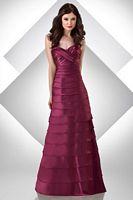 Bari Jay Tiered Bridesmaid Dress with Detachable Long Skirt 308 image